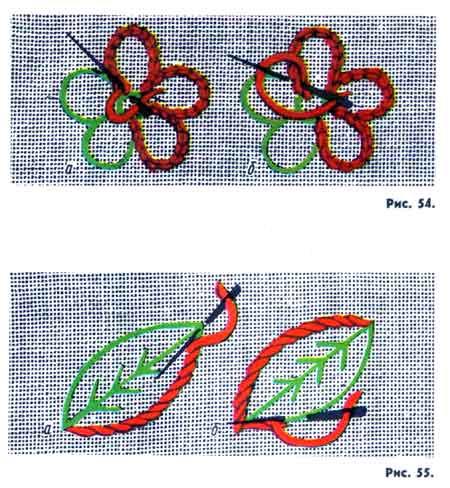 Вышивка для начинающих по рисункам