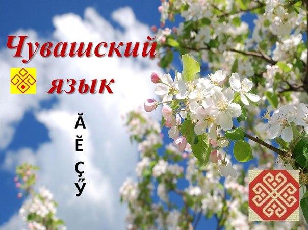 Красивая девушка, открытка на чувашском языке с днем рождения