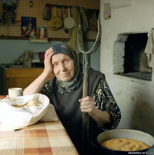 домашнее фото бабушки