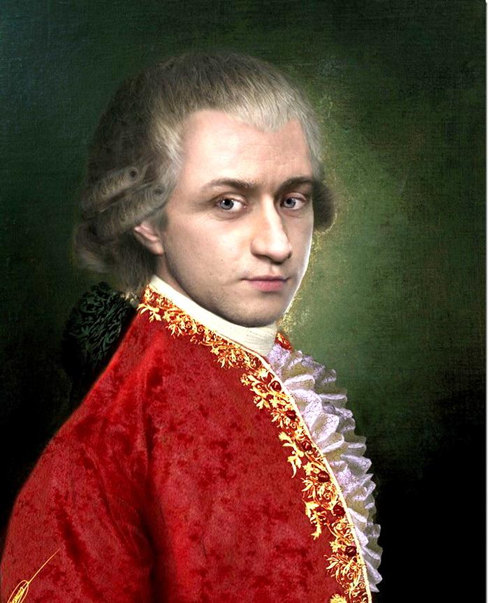 фото моцарта композитора