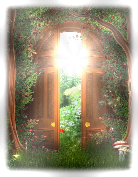 Сказочные двери гифки анимированные картинки