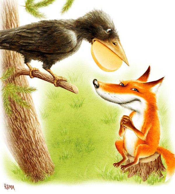заяц на ловле мораль