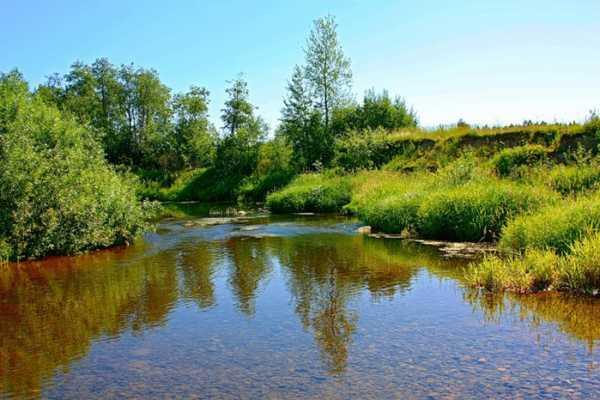 река малая иночь рыбалка