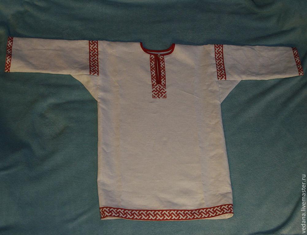 Как сшить славянскую рубаху своими руками 44
