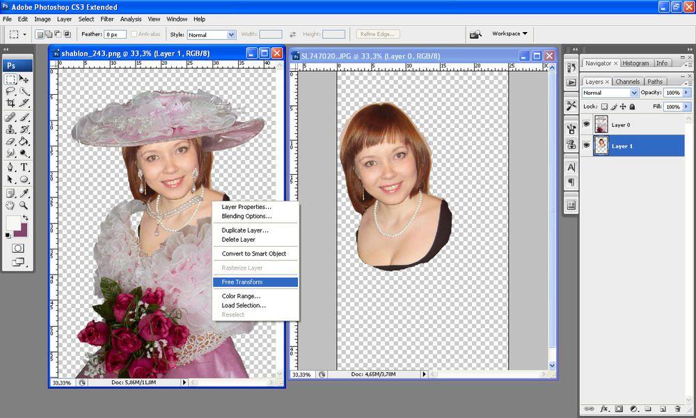 Инструкция по фотошопу открытки