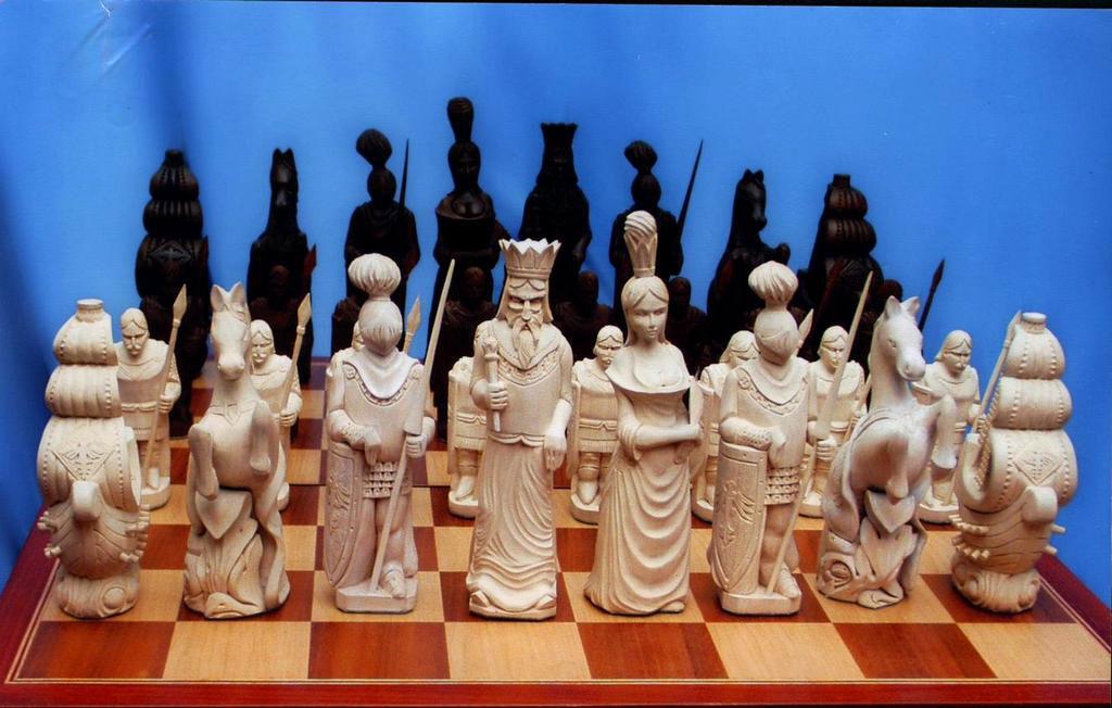 Шахматные фигурки из дерева своими руками 36