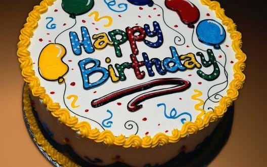 Торти фото сднем рождения