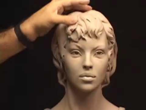 как лепить волосы для скульптур