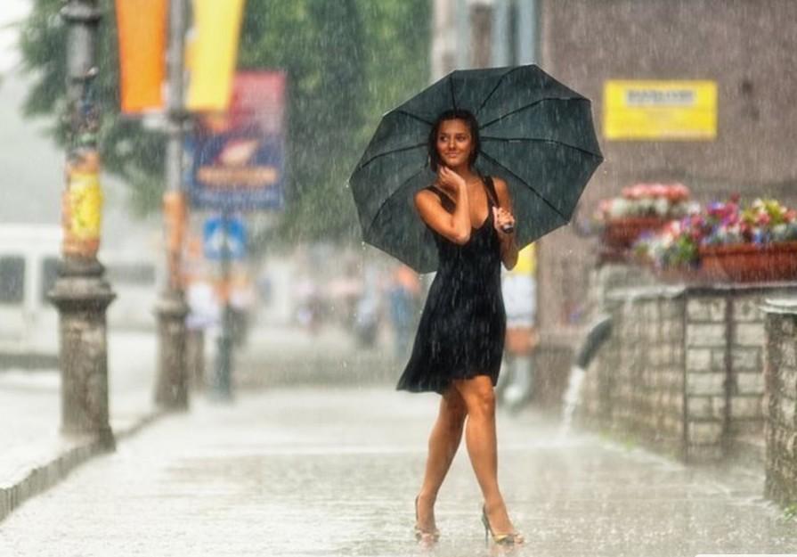 Стих что мокнет под дождём