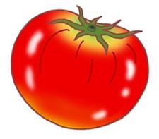 Маска помидора для детей 75