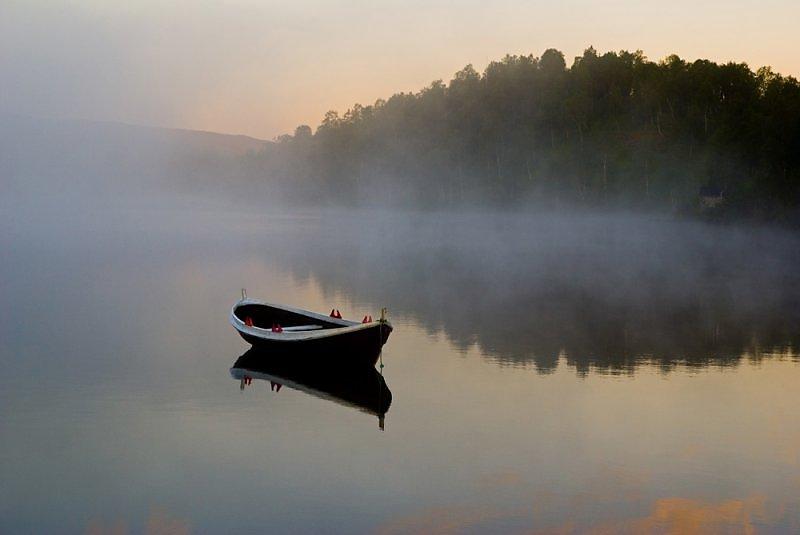 лодка мгла фото