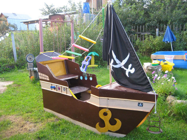 лодка для детского сада своими руками
