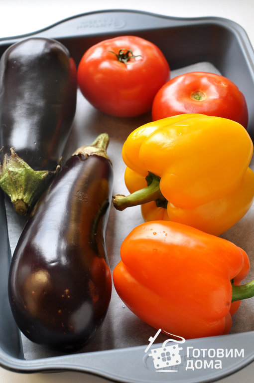 Рецепты из помидоров и баклажанов