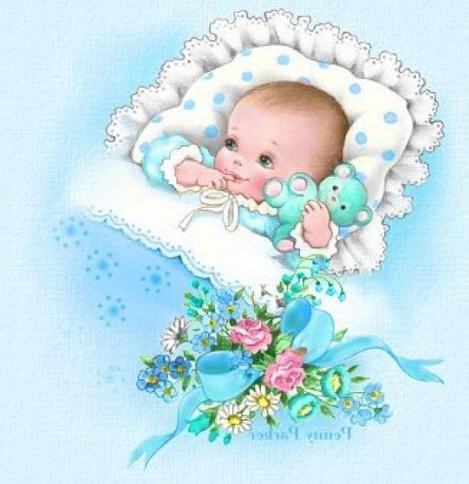 Поздравление на казахском языке с рождением внучки