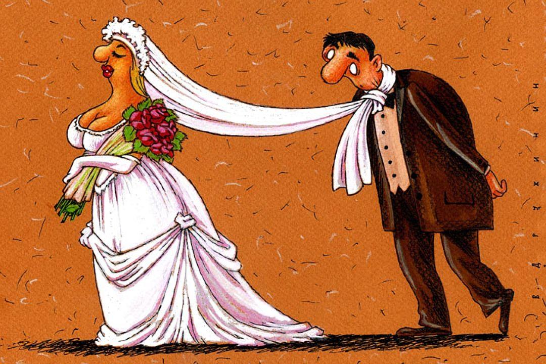 Открытки про женитьбу