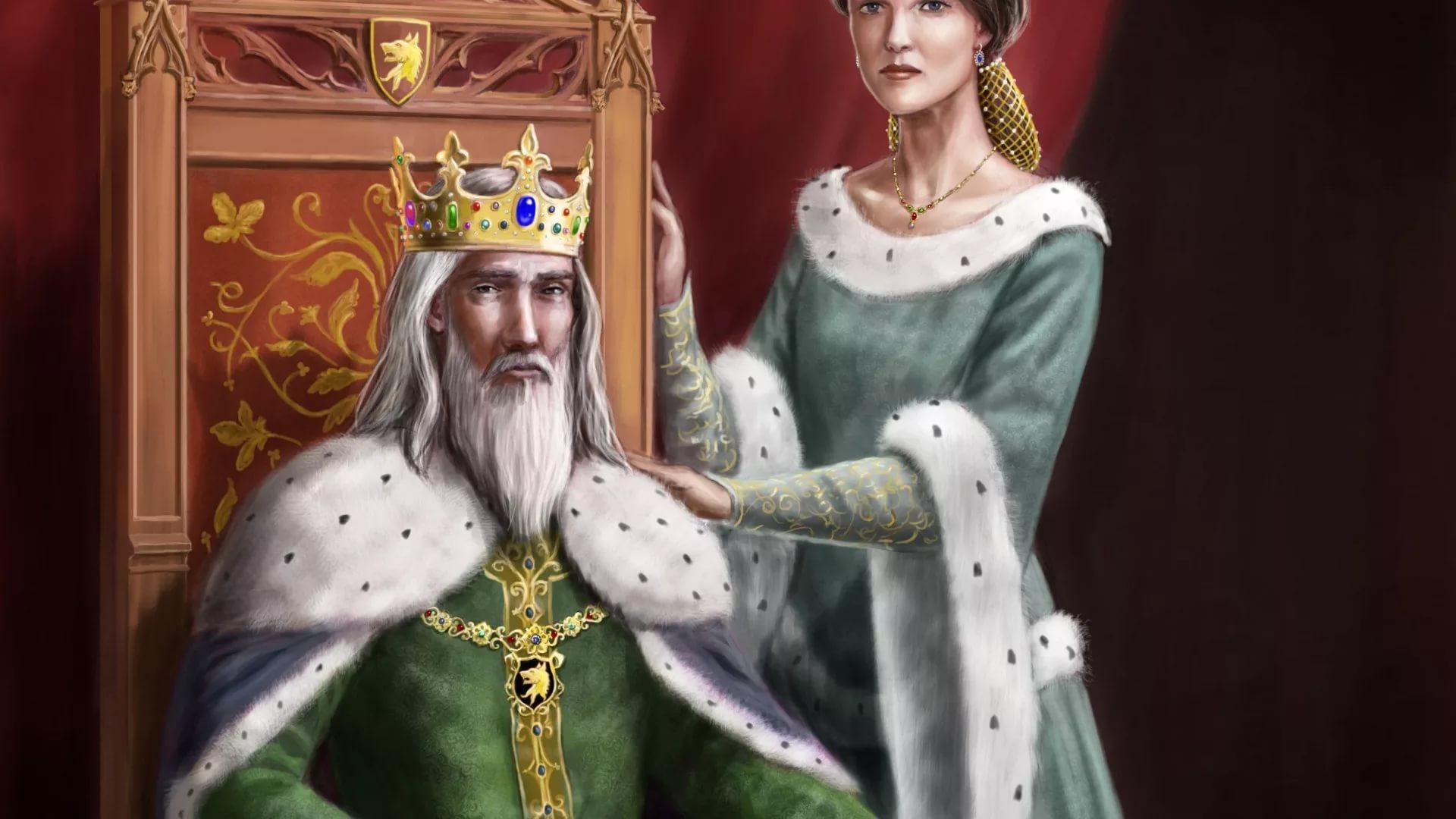 Король в картинках, картинки краски слушать