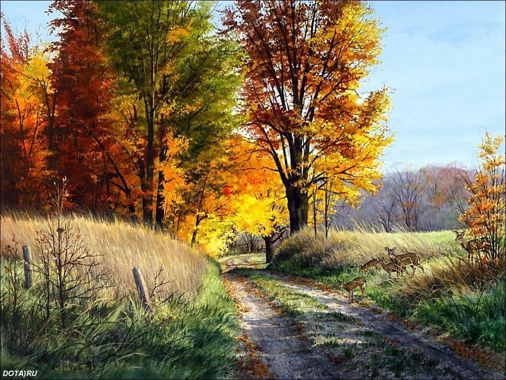 Картинки прикольные конец осени