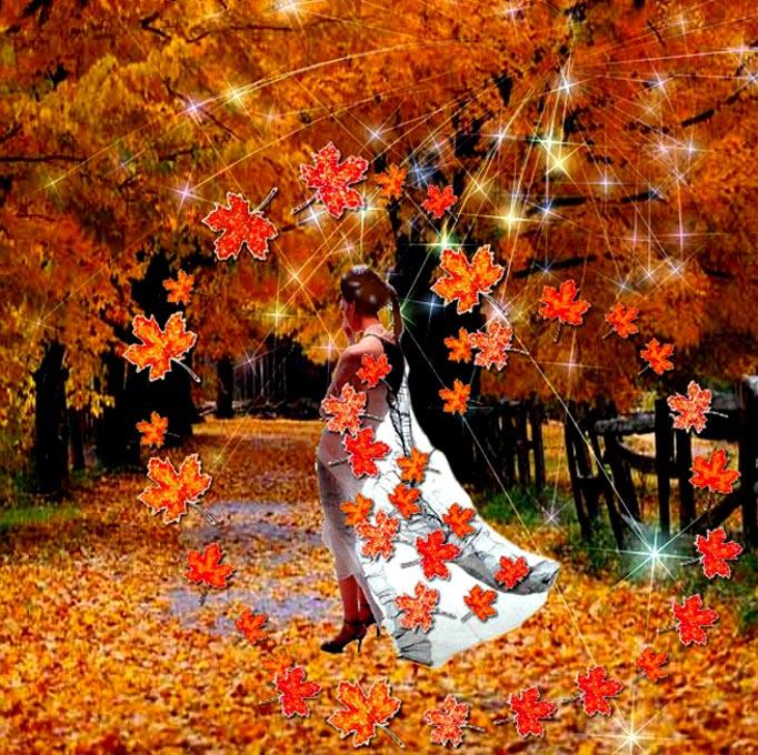 начала осенний день закружит листопадом стихи ребенок очень