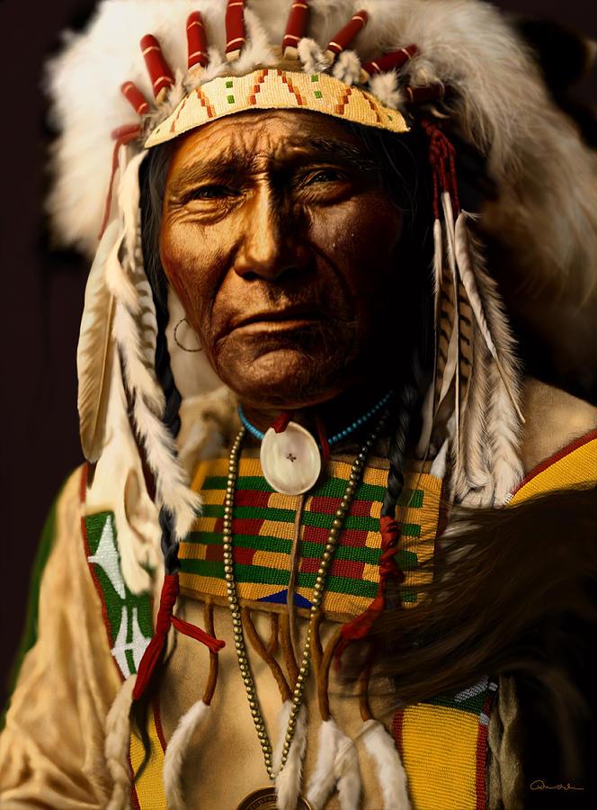 называют птицей-носорогом, фото индейских вождей самом деле это