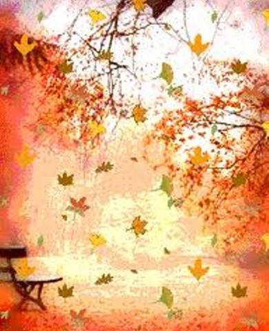 Днем, листопад анимация картинки для детей