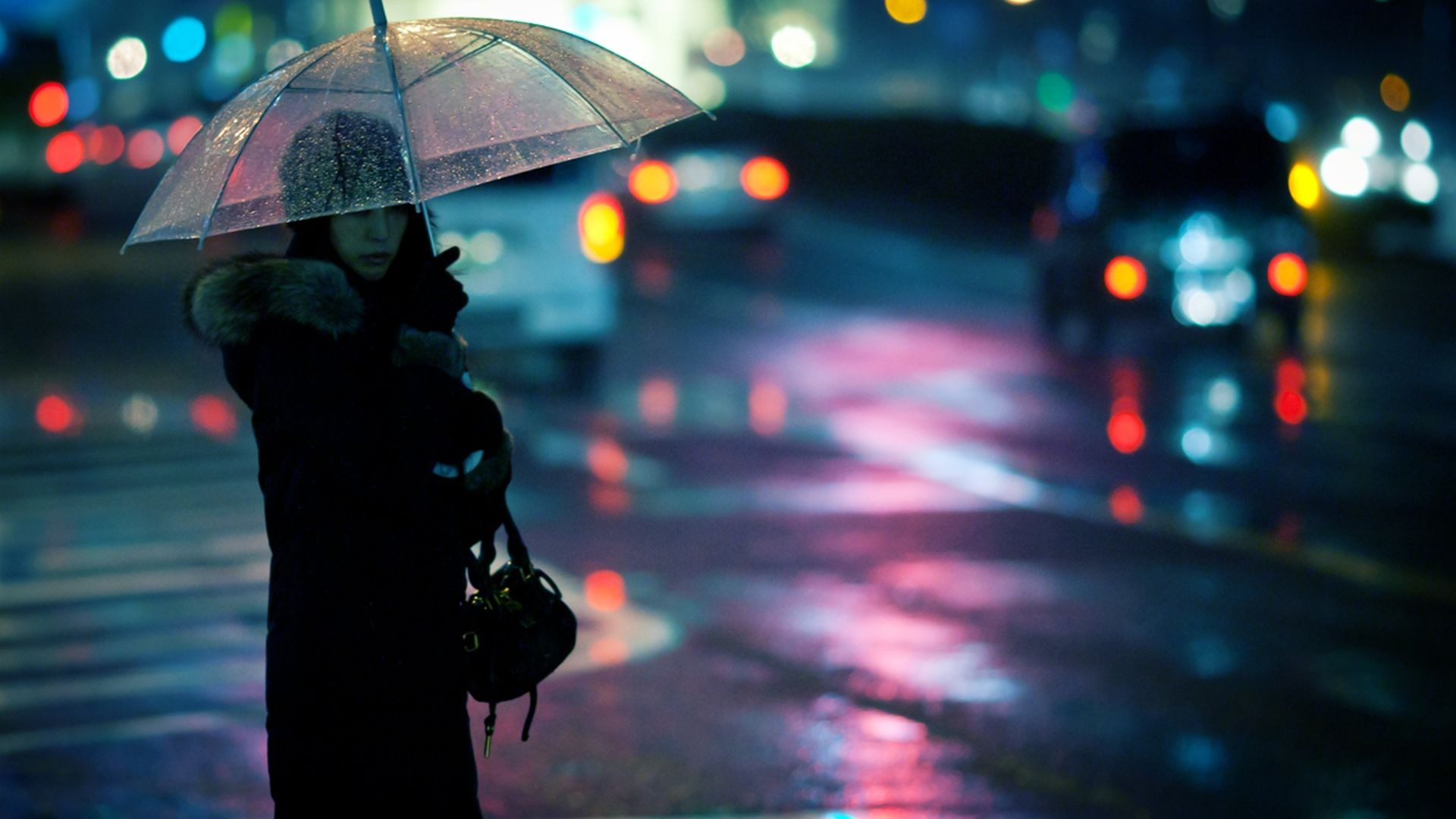 sad rainy night - HD 1600×900