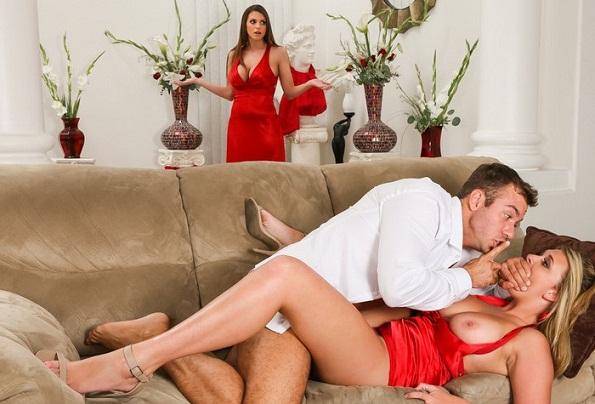 Porn movie seduce wife sex alcohol sent stream