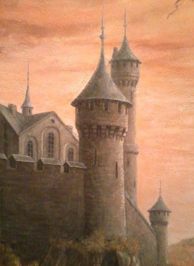 Картинка старый замок по музыке