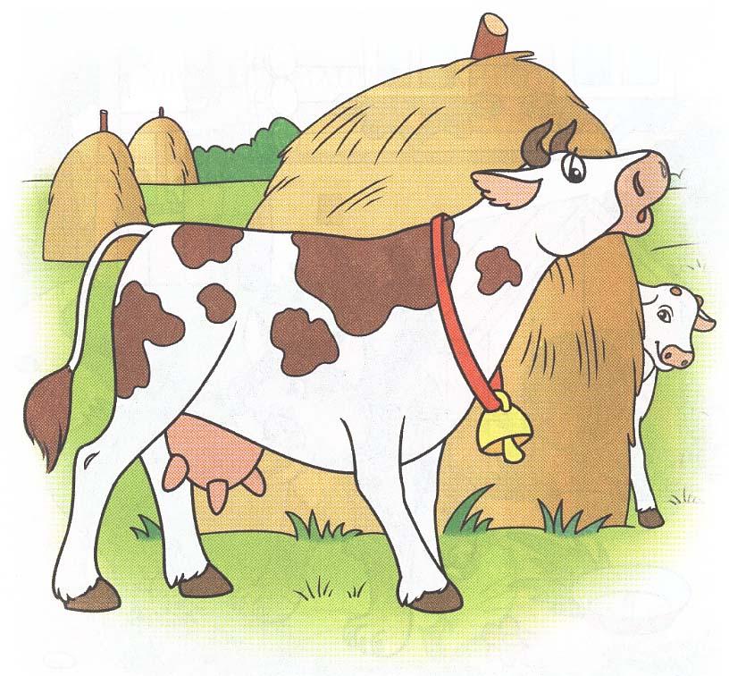 Коровы картинки для детей