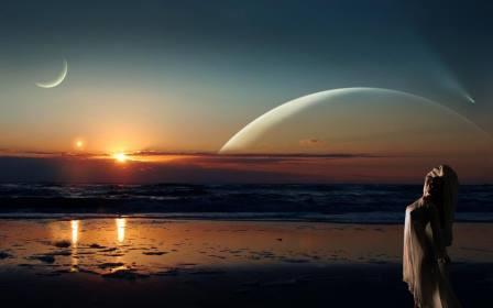 Слияние двух лун стихи