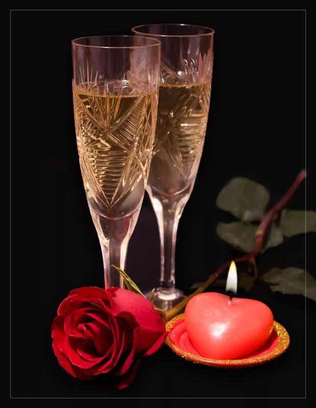 Открытки выпьем за любовь, днем свадьбы