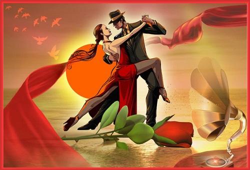 Открытка день танго