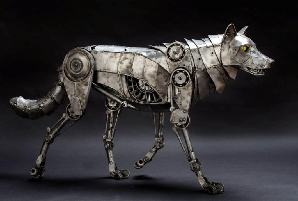 лишь механическая собака картинки можете