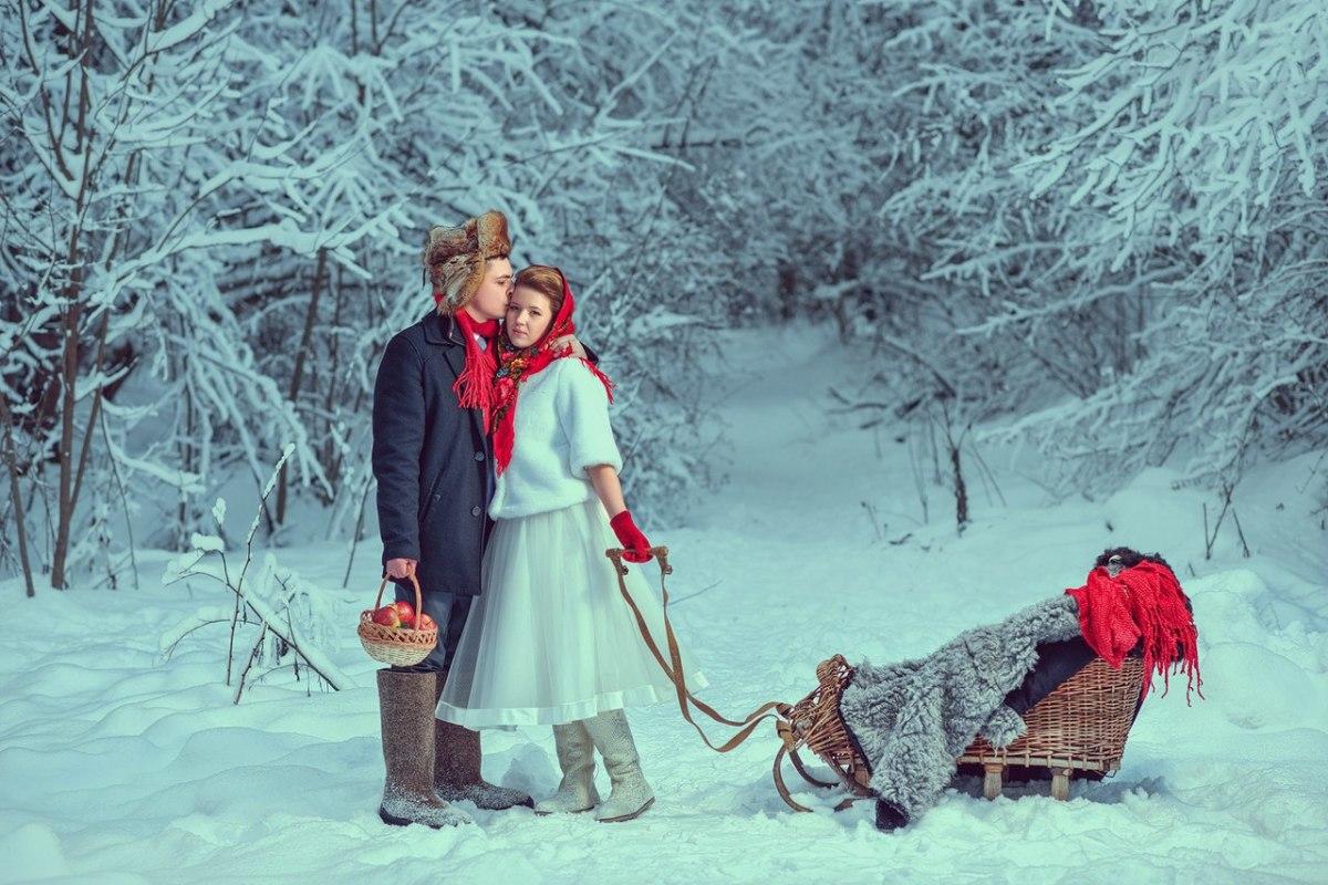 свадьба-лесу-зимой