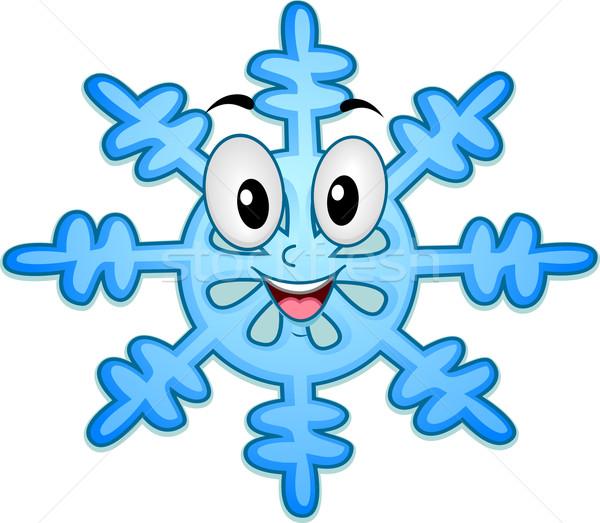 Картинка снежинки смешная, гифки