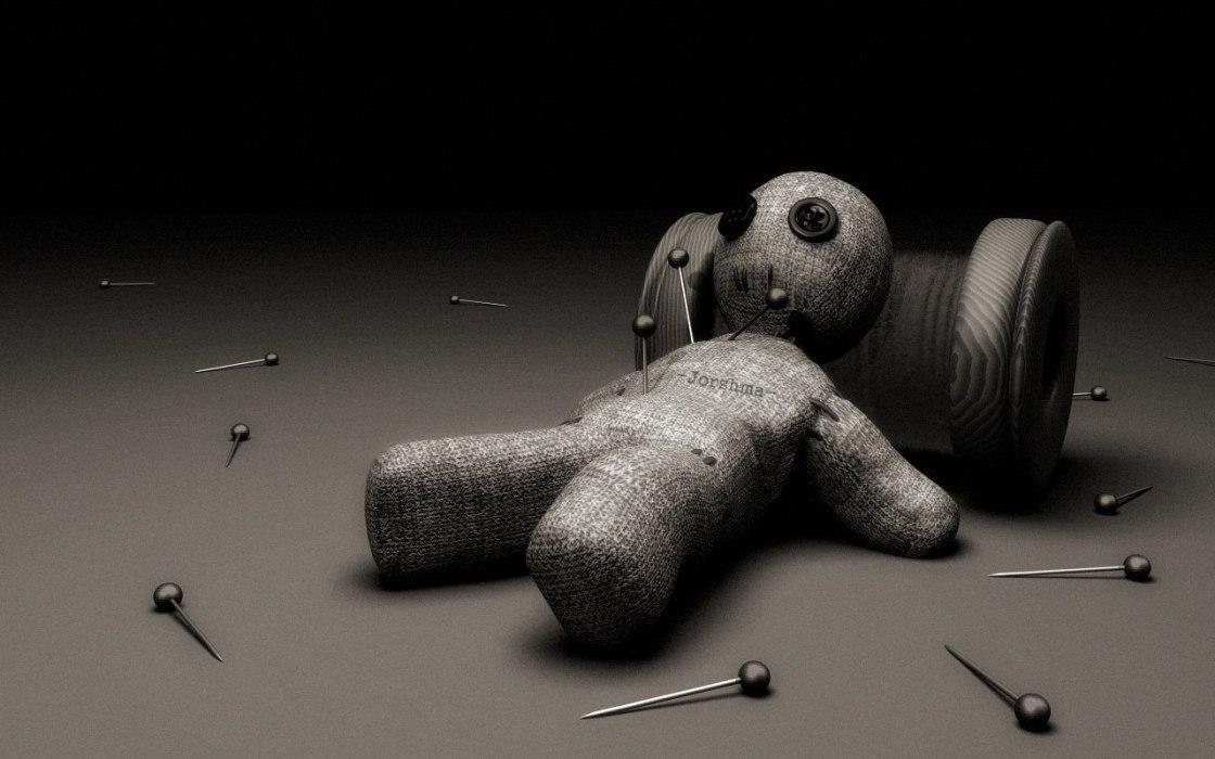 что чем картинки куклы вуду для обоев декорации рулета