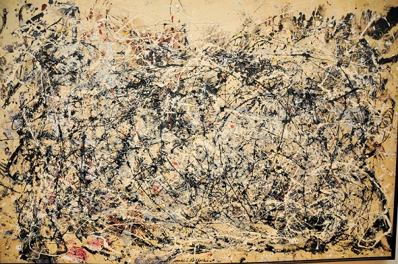 brief comparison andy warhol and jackson pollock and their Compare and contrast the work of two artists from different movements art movement and jackson pollock from for example like andy warhol's.