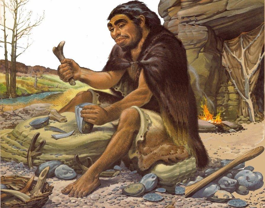 Пещерные люди в картинках