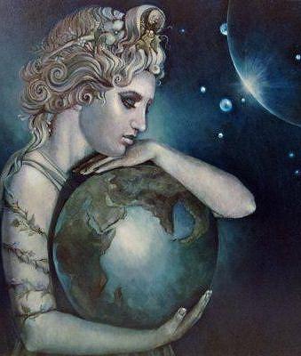 Древнегреческая богиня земли гея