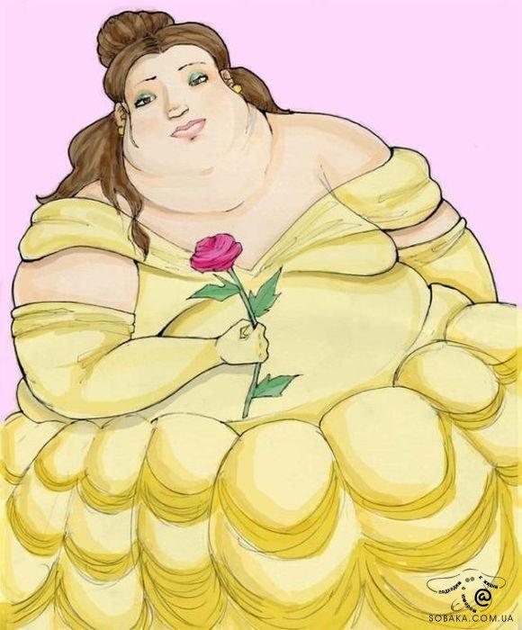 Рисунки жирных девушек, молодая дает в жопу фото