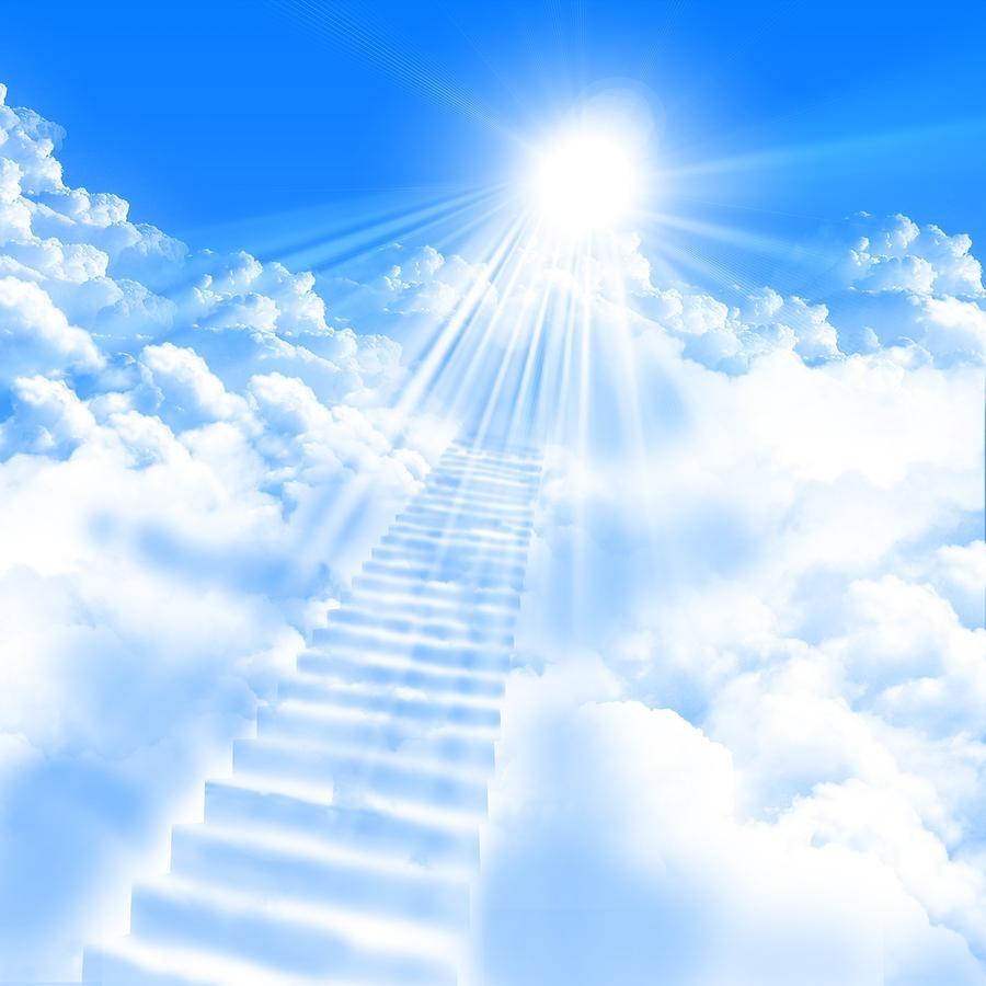Родители смешные, лестница в небо открытка