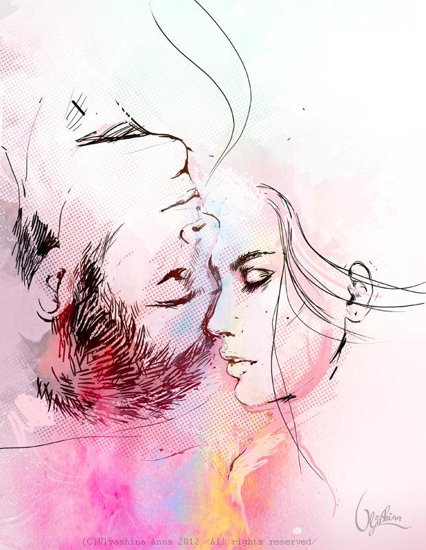 Картинки с рисунками о любви