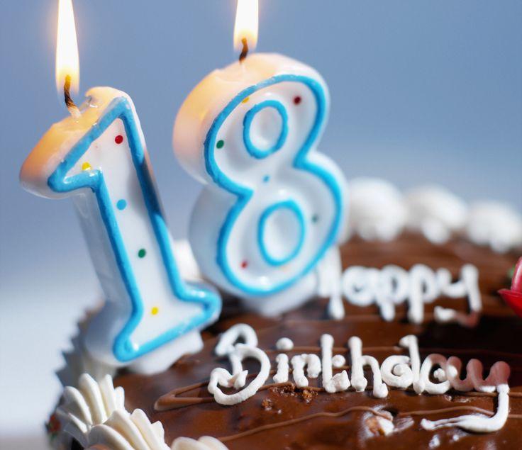 Поздравление с днюхой 18 лет