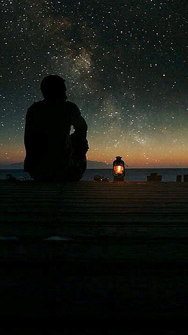 Крутые картинки одиночество ночь, рамки