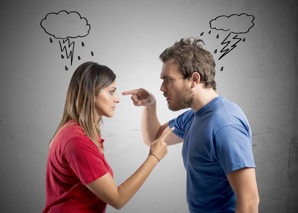 Открытки ссоры супругов