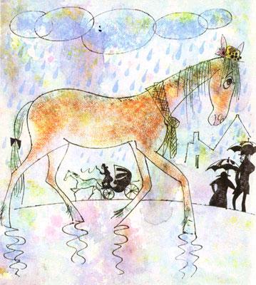 Сказка про старую лошадь