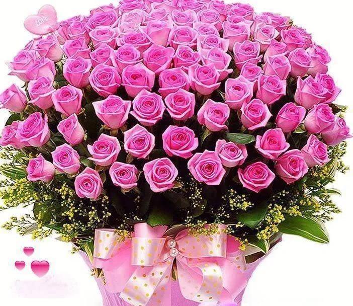 Картинки с днем рождения женщине букеты роз