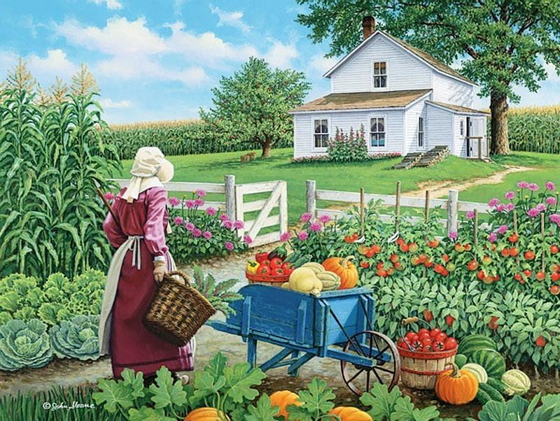 рисунок огорода картинки отцовские гены лыкова-младшего
