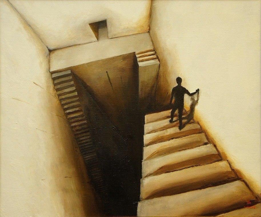 Прикольные лестницы в рисунке, свадьба
