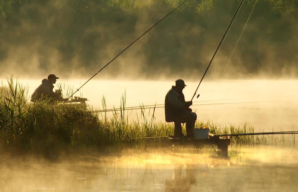 Картинки рыболова с удочкой