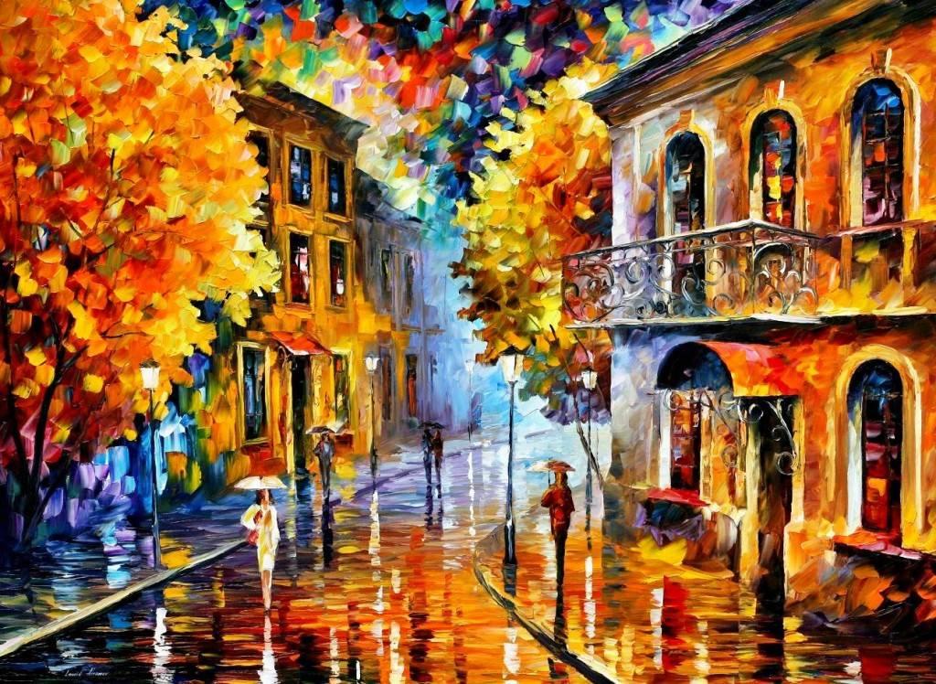 картинки красивые на тему осень в городе для нашего